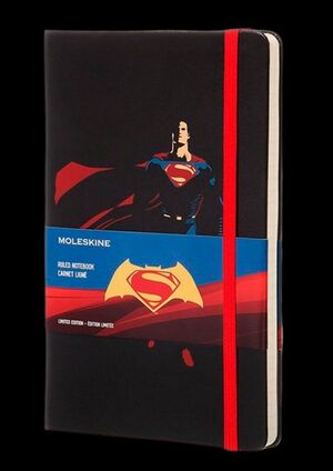 MOLESKINE RULED NOTEBOOK SUPERMAN