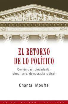 RETORNO DE LO POLITICO, EL