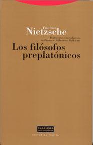 LOS FILÓSOFOS PREPLATÓNICOS