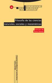 FILOSOFÍA DE LAS CIENCIAS NATURALES, SOCIALES Y MATEMÁTICAS