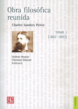 OBRA FILOSÓFICA REUNIDA TOMO I (1867-1893)