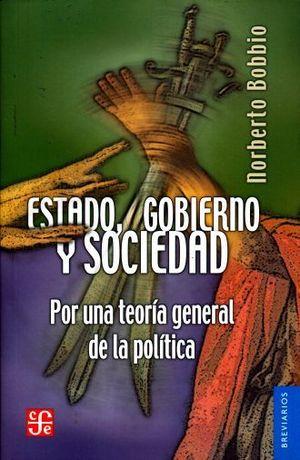 ESTADO, GOBIERNO Y SOCIEDAD