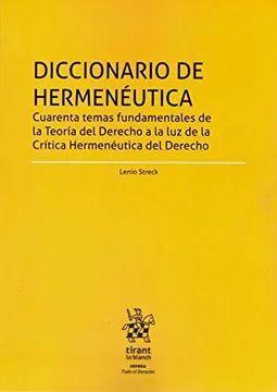 DICCIONARIO DE HERMENEUTICA