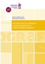 LOS DERECHOS DE LA INFANCIA Y ADOLESCENCIA EN LAS CONSTITUCIONES EUROPEAS
