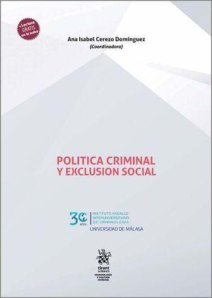 POLITICA CRIMINAL Y EXCLUSION SOCIAL