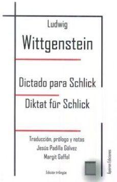 DICTADO PARA SCHLICK