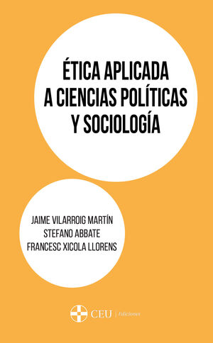 ÉTICA APLICADA A CIENCIAS POLÍTICAS Y SOCIOLOGÍA