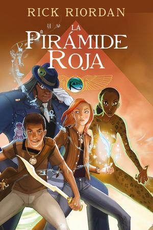 LA PIRÁMIDE ROJA (LAS CRÓNICAS DE LOS KANE [CÓMIC] 1)