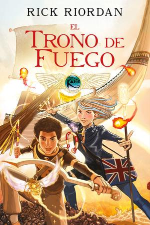 EL TRONO DE FUEGO (NOVELA GRAFICA)