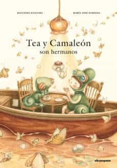 TEA Y CAMALEON SON HERMANOS