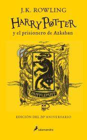 HARRY POTTER Y EL PRISIONERO DE AZKABAN (HUFFLEPUFF)