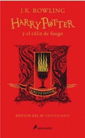 HARRY POTTER Y EL CÁLIZ DE FUEGO - GRYFFINDOR
