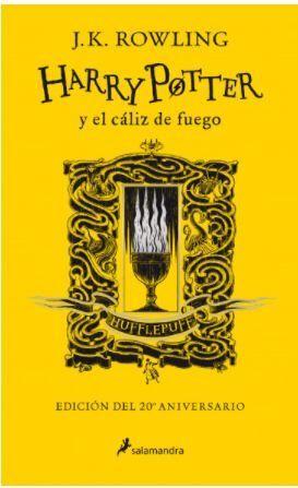 HARRY POTTER Y EL CÁLIZ DE FUEGO - HUFFLEPUFF