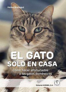 EL GATO SOLO EN CASA