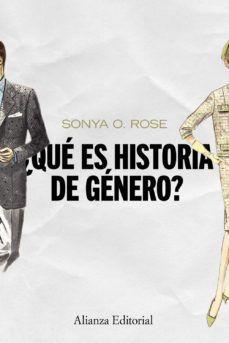 QUE ES HISTORIA DE GENERO?