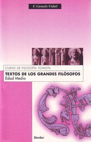 TEXTOS DE LOS GRANDES FILÓSOFOS