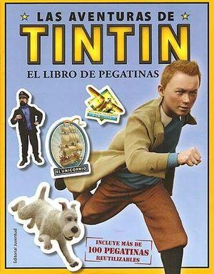 TINTIN LIBRO DE PEGATINAS DE LA PELICULA