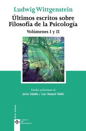 ÚLTIMOS ESCRITOS SOBRE FILOSOFÍA DE LA PSICOLOGÍA