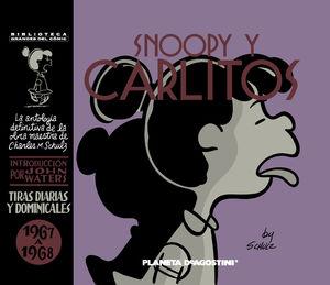 SNOOPY Y CARLITOS 1967-1968 Nº 09/25