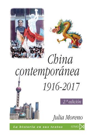 CHINA CONTEMPORÁNEA 1916-2017