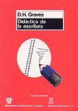 DIDÁCTICA DE LA ESCRITURA