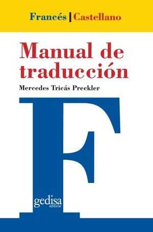 MANUAL DE TRADUCCION FRANCES - CASTELLANO