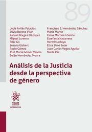 ANALISIS DE LA JUSTICIA DESDE LA PERSPECTIVA DE GENERO