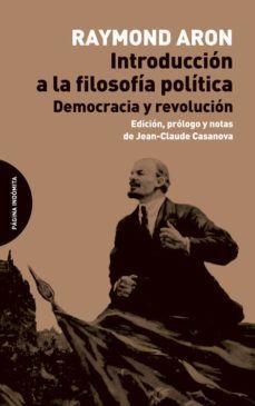 INTRODUCCION A LA FILOSOFIA POLITICA