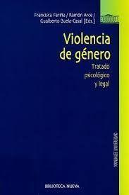 VIOLENCIA DE GENERO: TRATADO PSICOLOGICO