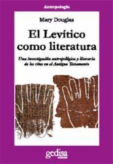 LEVITICO COMO LITERATURA, EL
