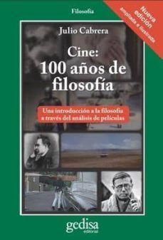 CINE: 100 AÑOS DE FILOSOFÍA