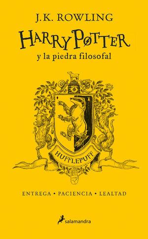 HARRY POTTER Y LA PIEDRA FILOSOFAL (HUFFLEFPUFF)