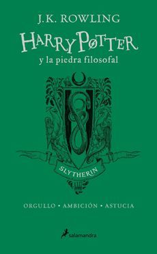 (SLYTHERIN) HARRY POTTER Y LA PIEDRA FILOSOFAL