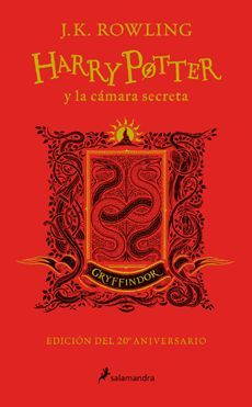 HARRY POTTER Y LA CAMARA SECRETA (GRYFFINDOR)
