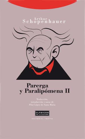 PARERGA Y PARALIPOMENA II 2ªED