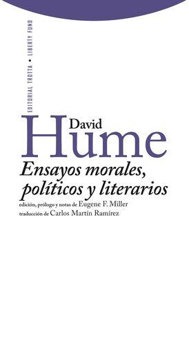 ENSAYOS MORALES POLITICOS Y LITERARIOS