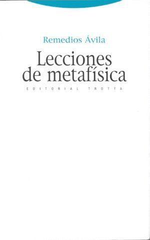 LECCIONES DE METAFISICA