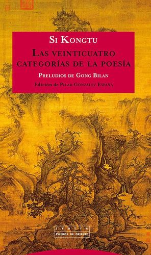 VEINTICUATRO CATEGORIAS DE LA POESIA