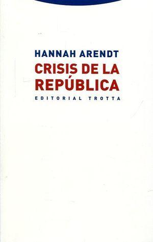 CRISIS DE LA REPUBLICA