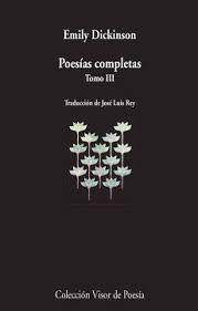 POESIAS COMPLETAS EMILY DICKINSON TOMO III