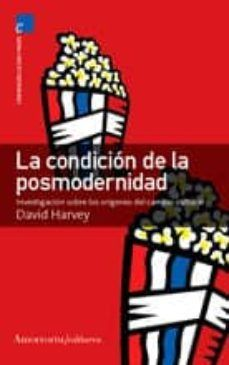 CONDICION DE LA POSMODERNIDAD,LA 3ª ED