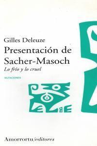 PRESENTACION DE SACHER-MASOCH 2ªED