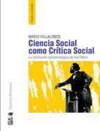 CIENCIA SOCIAL COMO CRITICA SOCIAL