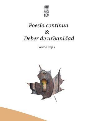 POESIA CONTINUA Y DEBER DE URBANIDAD
