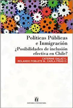 POLITICAS PUBLICAS E INMIGRACION