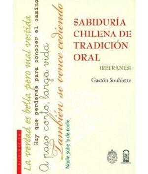 SABIDURIA CHILENA DE TRADICION ORAL REFRANES