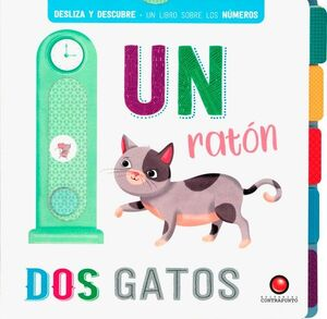 UN RATON DOS GATOS