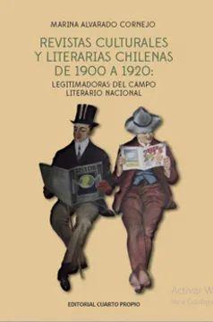 REVISTAS CULTURALES Y LITERARIAS CHILENAS DEL 1900 A 1920