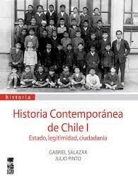 HISTORIA CONTEMPORANEA DE CHILE I TOMO