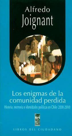 ENIGMAS DE LA COMUNIDAD PERDIDA, LOS